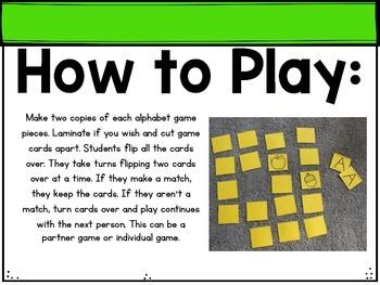 ABC Memory Game