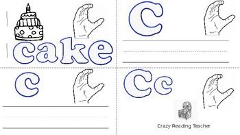 ABC Mini Book Letter C