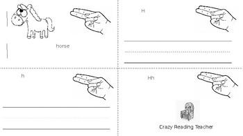 ABC Mini Book Letter H