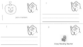ABC Mini Book Letter J