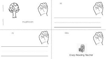 ABC Mini Book Letter M
