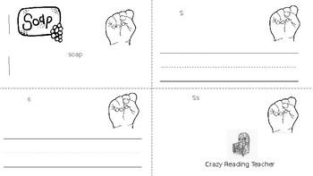 ABC Mini Book Letter S