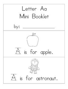 ABC Mini Booklets