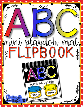 ABC Mini Play Clay Mat Flip Book