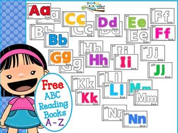 ABC Mini Readers Free Bundle Letters O - Z
