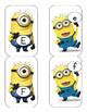 ABC Minion flash cards