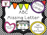 ABC Missing Letter BOOM Task Cards