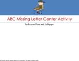 ABC Missing Letter Center Activity