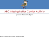 ABC Missing Letter Center Activity