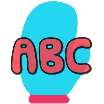 ABC Mitten Matching Game
