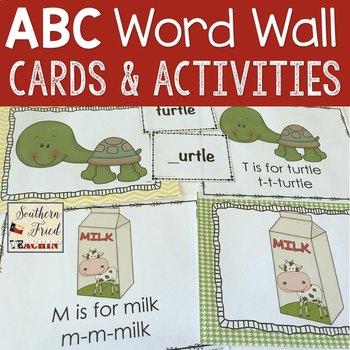 ABCs Word Wall