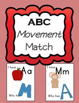 ABC Movement Match