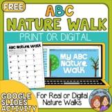 ABC Nature Walk - Print or Digital