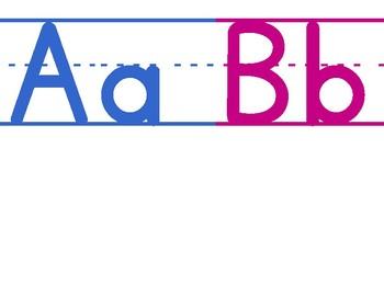 ABC Neon Numbrers 1-30