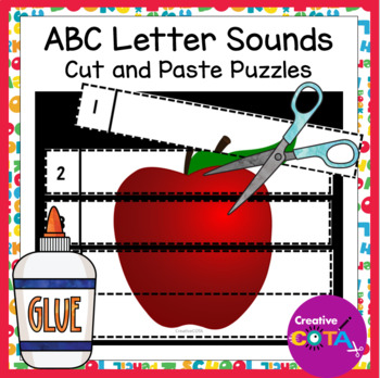 ABC No Prep Cut and Paste Number 1-5 Puzzles