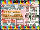 ABC, Numbers, Days, Months Candy Theme