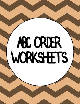 ABC ORDER CUT AND PASTE