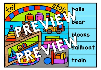 ABC ORDER PUZZLES: DICTIONARY SKILLS: ABC ORDER CENTER: ALPHABETICAL ORDER CARDS