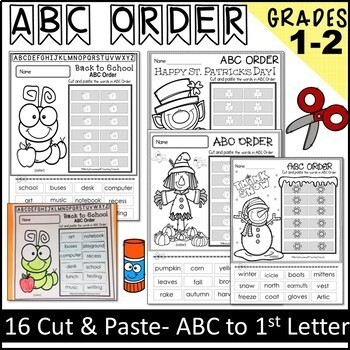 ABC ORDER for ALL YEAR
