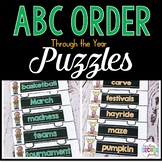 Abc Order Activities