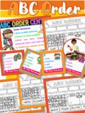 ABC Order Center Word Study