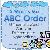 ABC Order: A Wintery Mix
