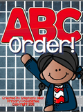 ABC Order Activities and Printables