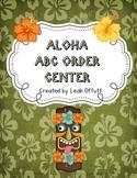 ABC Order -Aloha Theme