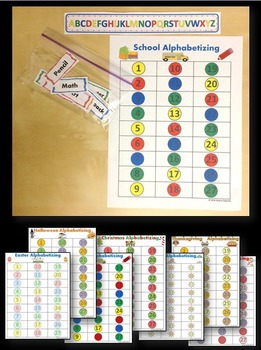 Alphabetizing Game Bundle