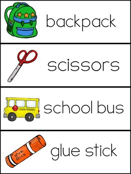 ABC Order-Back to School