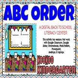 ABC Order (Back to School)-A Digital Literacy Center for G