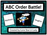 ABC Order Battle Game - Set 1
