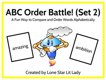 ABC Order Battle Game - Set 2
