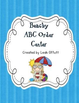 ABC Order-Beach Theme
