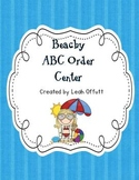 ABC Order-Beach Theme