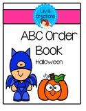 ABC Order Book - Halloween