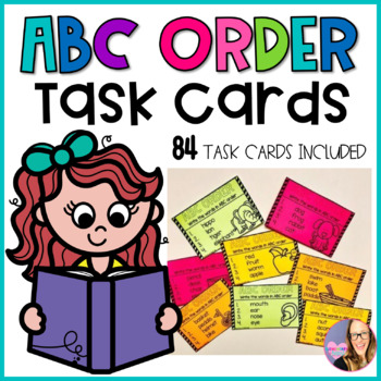 ABC Order Cards