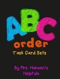 Alphabetical (ABC) Order Task Cards