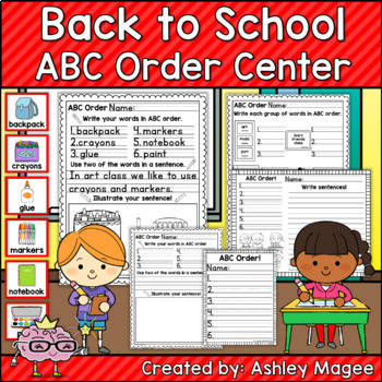 ABC Order Centers The Bundle: Holiday, Seasonal, and Themed Sets