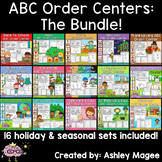 ABC Order Centers The Bundle: Holiday and Seasonal Sets