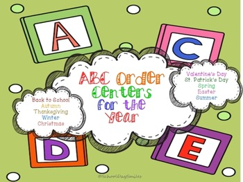 ABC Order Centers for the Year