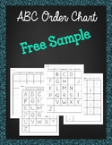 ABC Order Chart *FREE*