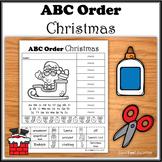 ABC Order - Christmas - NO PREP