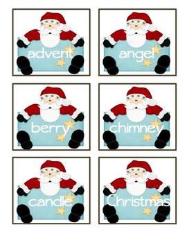 ABC Order-Christmas Theme