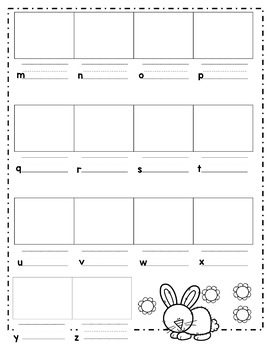 ABC Order--Cut and Glue Activities