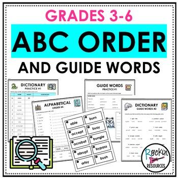 Homework abc order