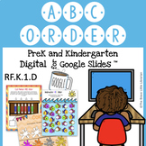 ABC Order - Distance Learning