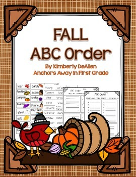 ABC Order Fall