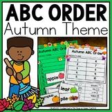 ABC Order Fall