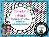 ABC Order First Grade Journeys Unit 1